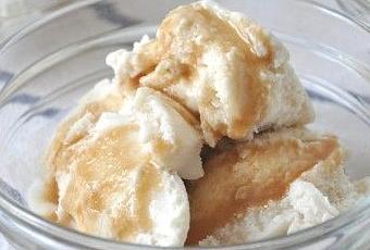 Vanilla Ice Cream Butterscotch Sauce - Paperblog