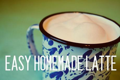 recipe, latte, how to, save money