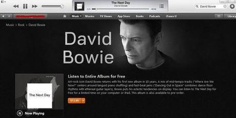 How to Stream Bowie's Latest Album for Free Through March 12
