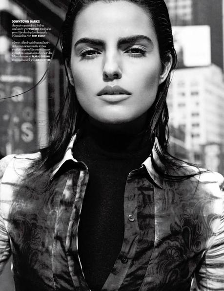 Liza Golden by Simon Cave for Vogue Thailand March 2013
