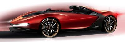 Sergio Concept by Pininfarina the official rendering