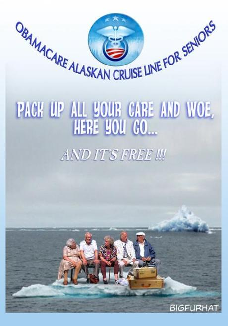 Obamacare Alaskan cruise for seniors