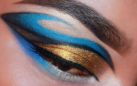 Makeup   Graphic x Dramatic Makeup with Sugarpill Afterparty + Goldilux