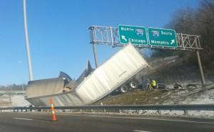 Truck Accident at I-44 and I-270 Claims Life of Doolittle Man