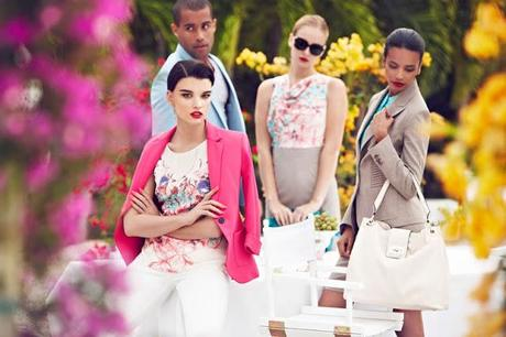CRYSTAL RENN FRONTS LA CHATEAU SPRING 2013 CAMPAIGN