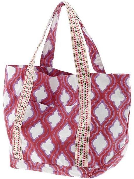 roberta roller beach tote piperlime covet her closet tutorial celebrity fashion gossip sale deal promo free ship deal spring break what to pack