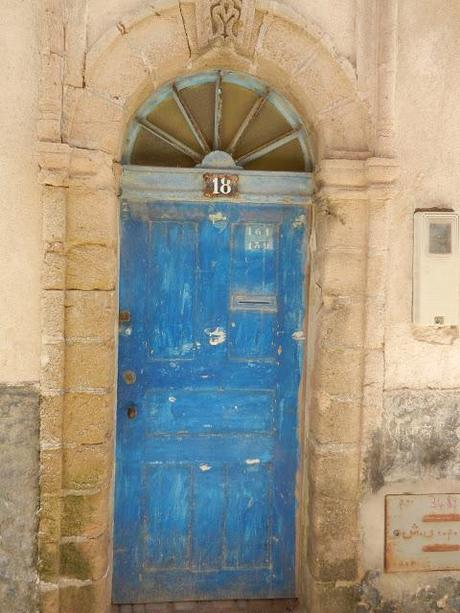 Blue  in Essouira/Feb
