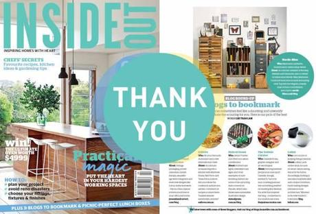 Recommended by Inside Out Magazine