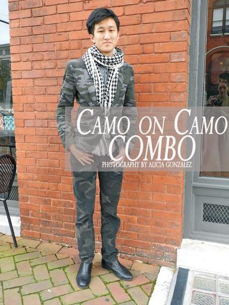 LET'S HEAR IT FOR THE BOYS: Camo On Camo Combo!