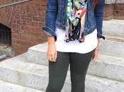 SCARVES LIMIT: Check This Fashionista's Fall Look!
