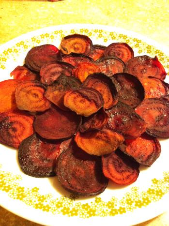 Beet Chips Becauseitsgoodforyou.com