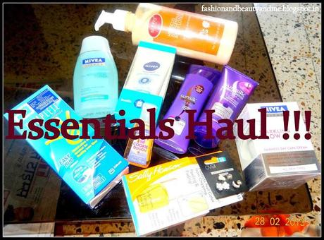 Essentials Haul !!