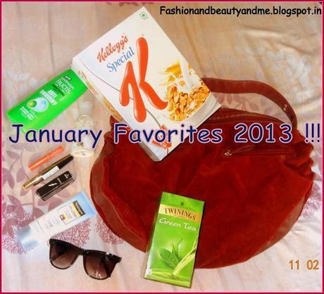 January Favorites 2013 !!