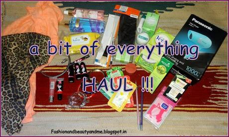 A bit of everything HAUL !!