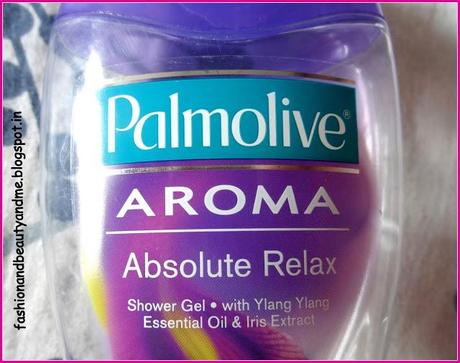 Palmolive AROMA, Absolute relax body wash