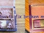 DIY- Broken Eyeshadow, Powder, Blush