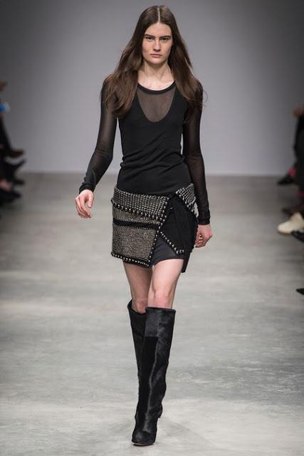 ISABEL MARANT FW13: LAYERS AND KNEE HIGH BOOTS
