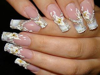 Pretty Nails For The Wedding Day Paperblog