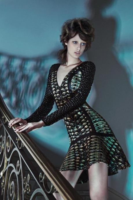 Thairine Garcia by Karine Basilio for Iodice Fall:Winter 2013 campaign