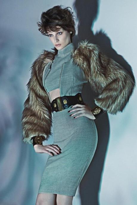 Thairine Garcia by Karine Basilio for Iodice Fall:Winter 2013 campaign 2