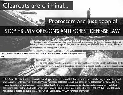 When Forest Defense is Outlawed…