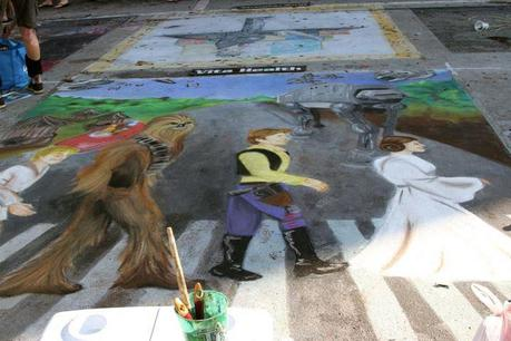 Photos from the Street Painting Festival of Lake Worth, FL
