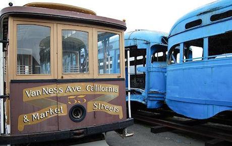 Inside San Francisco's Vintage Streetcar Boneyard