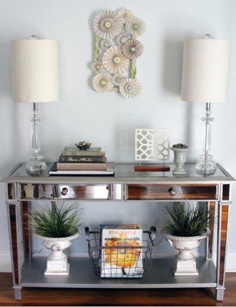 decor spring entryways Spring Decorating Ideas for Entryways HomeSpirations