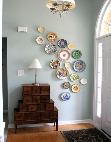 decor spring entryways8 Spring Decorating Ideas for Entryways HomeSpirations