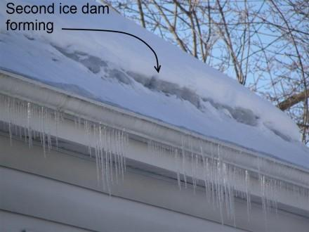 Ice Dam Prevention From The Exterior Paperblog