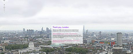 The world's largest panorama photo of the London skyline
