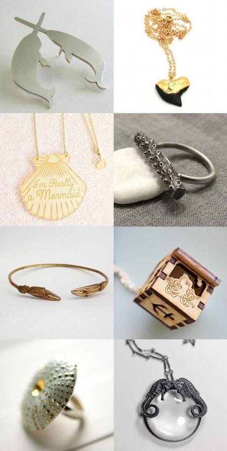 Jolly Jewellery: SEA CREATURES