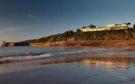 Pembrokeshire honeymoon hotel by the sea
