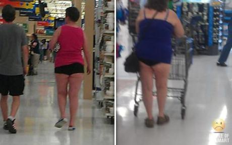 People of Walmart: The Cheeky-Short-Shorts Edition - Paperblog