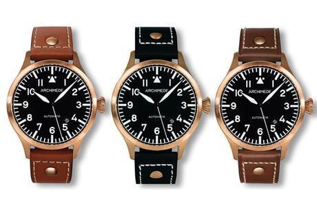 Archimede Pilot Bronze 42 Automatic Watch