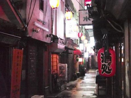 P2060271 渋谷に残る狭小なディープな横丁,のんべえ横丁 / Nonbei Yokochoh,nostalgic back alley,in Shibuya