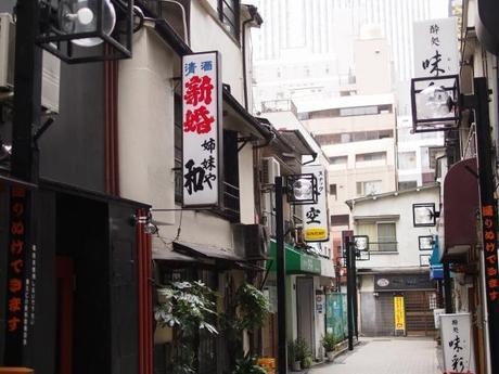 P2060126 消えつつある池袋の横丁 /  attractive alleys are disappearing from Ikebukuro,metropolitan city