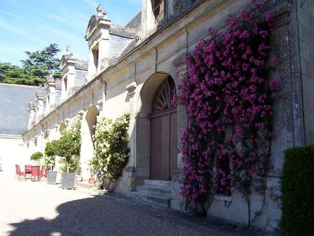The former horses stables at the Château de la Bourdaisière Castle in France