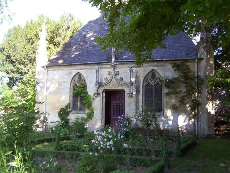 The small Chapel at the Château de la Bourdaisière castle in France