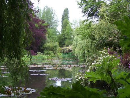 Claude Monet Water Lily Pon in Giverny - Frame To Frame - Bob & Jean photo