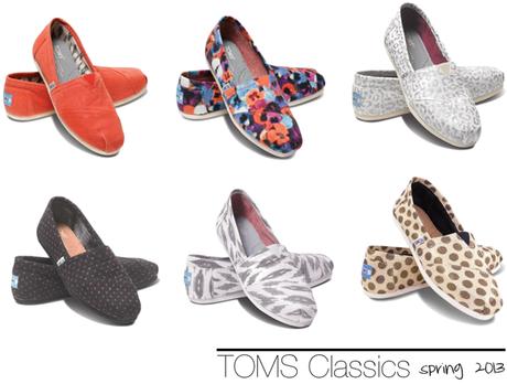 Floral, Polka-dot, Ikat, Tangerine & Leopard TOMS.