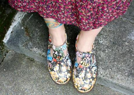 Street Feet: Floral Revival