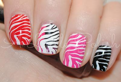 February nail art challenge animal print paperblog february nail art challenge animal print prinsesfo Image collections