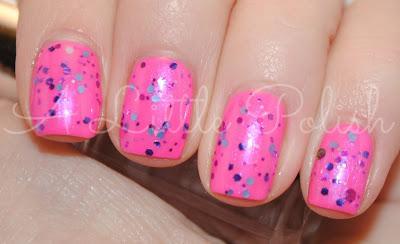 February Nail Art Challenge - Glitter