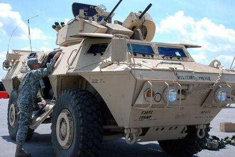 Why does Dept of Homeland Security need thousands of mine-resistant armored vehicles?
