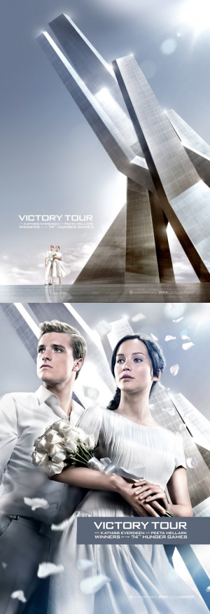 The Hunger Games: Catching Fire - Victory Tour Posters