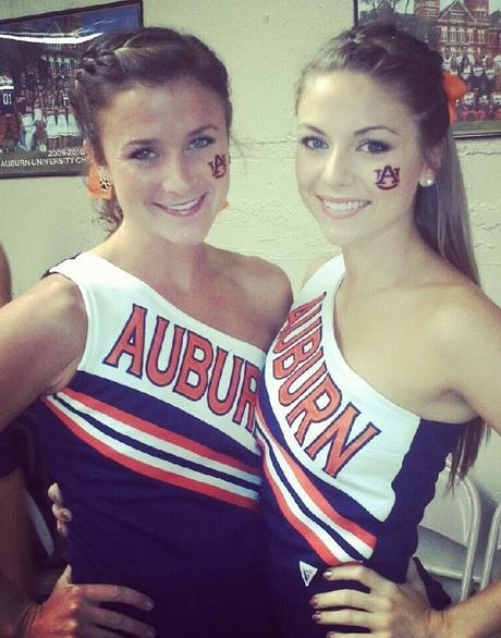 I Really Like the Auburn Cheerleaders