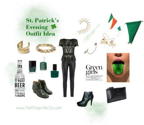 St. Patrick's Evening Outfit Idea