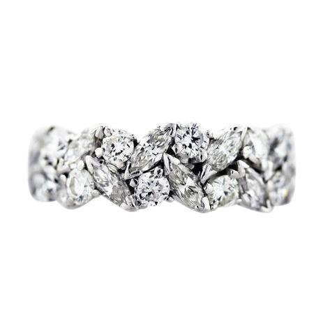 ... Marquise and Round Diamond Eternity Band Ring, marquise wedding ring