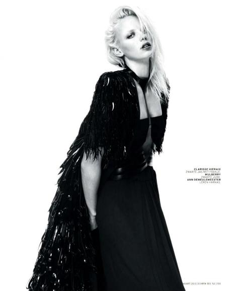Dorith Mous by Mason Poole for L'Officiel Nederland March 2013 2